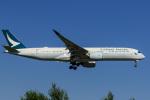 syu〜さんが、新千歳空港で撮影したキャセイパシフィック航空 A350-941XWBの航空フォト(写真)
