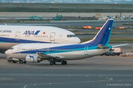 RUNWAY23.TADAさんが、羽田空港で撮影したANAウイングス 737-54Kの航空フォト(飛行機 写真・画像)