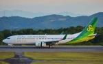 鉄バスさんが、広島空港で撮影した春秋航空日本 737-8ALの航空フォト(飛行機 写真・画像)