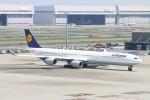 青春の1ページさんが、羽田空港で撮影したルフトハンザドイツ航空 A340-642Xの航空フォト(写真)