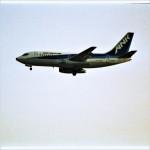 エルさんが、成田国際空港で撮影したエアーニッポン 737-281の航空フォト(写真)