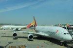伊豫の尾長うさぎさんが、仁川国際空港で撮影したアシアナ航空 A380-841の航空フォト(写真)