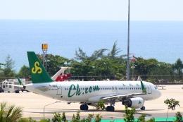reonさんが、プーケット国際空港で撮影した春秋航空 A320-214の航空フォト(飛行機 写真・画像)