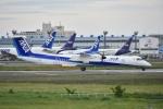 よしポンさんが、成田国際空港で撮影したANAウイングス DHC-8-402Q Dash 8の航空フォト(写真)