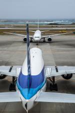 kuraykiさんが、那覇空港で撮影した全日空 777-381の航空フォト(写真)