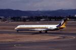 kumagorouさんが、仙台空港で撮影した日本エアシステム MD-81 (DC-9-81)の航空フォト(写真)