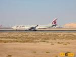 cornicheさんが、ドーハ国際空港で撮影したカタール航空 A330-302の航空フォト(飛行機 写真・画像)