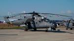 ちゃぽんさんが、ラメンスコエ空港で撮影したロシア空軍 Mi-35の航空フォト(写真)