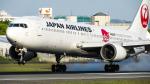 Ocean-Lightさんが、伊丹空港で撮影した日本航空 767-346/ERの航空フォト(写真)