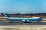 Cygnus00さんが、成田国際空港で撮影したキャセイパシフィック航空 747-867F/SCDの航空フォト(写真)
