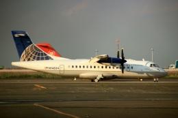 スポット110さんが、羽田空港で撮影したケープ・エア ATR-42-320の航空フォト(写真)