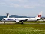 ザキヤマさんが、熊本空港で撮影した日本航空 767-346の航空フォト(写真)