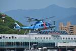 ガミコさんが、松山空港で撮影した愛媛県警察 A109E Powerの航空フォト(写真)