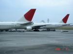 エルさんが、那覇空港で撮影した日本航空 777-346の航空フォト(写真)