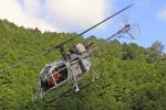 batilsさんが、NO DATAで撮影したアカギヘリコプター SA315B Lamaの航空フォト(写真)