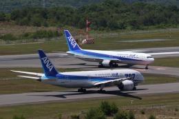 梅こぶ茶さんが、広島空港で撮影した全日空 787-8 Dreamlinerの航空フォト(写真)