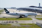 yabyanさんが、関西国際空港で撮影したキャセイパシフィック航空 A350-941XWBの航空フォト(写真)