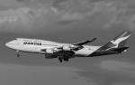 airbandさんが、羽田空港で撮影したカンタス航空 747-438/ERの航空フォト(写真)