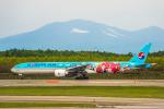Cygnus00さんが、新千歳空港で撮影した大韓航空 777-3B5/ERの航空フォト(写真)