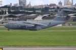 OMAさんが、嘉手納飛行場で撮影したアメリカ空軍 C-17A Globemaster IIIの航空フォト(飛行機 写真・画像)