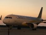 東亜国内航空さんが、那覇空港で撮影したバニラエア A320-214の航空フォト(写真)