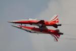 ちゃぽんさんが、フェアフォード空軍基地で撮影したスイス空軍 F-5E Tiger IIの航空フォト(飛行機 写真・画像)