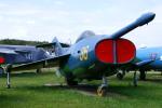 ちゃぽんさんが、モニノ空軍博物館で撮影したソビエト空軍 Yak-36の航空フォト(写真)