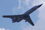 ちゃぽんさんが、ジュコーフスキー空港で撮影したロシア空軍 Tu-134UBKの航空フォト(飛行機 写真・画像)