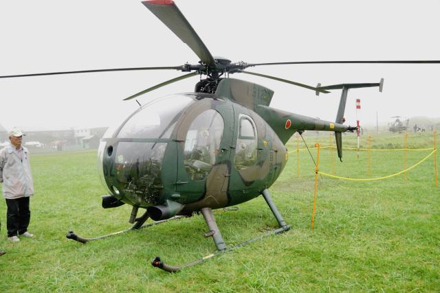 ちゃぽんさんが、根室分屯基地で撮影した陸上自衛隊 OH-6Dの航空フォト(飛行機 写真・画像)