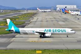 kix-boobyさんが、関西国際空港で撮影したエアソウル A321-231の航空フォト(写真)