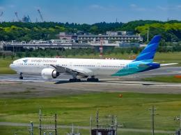 万華鏡AIRLINESさんが、成田国際空港で撮影したガルーダ・インドネシア航空 777-3U3/ERの航空フォト(写真)