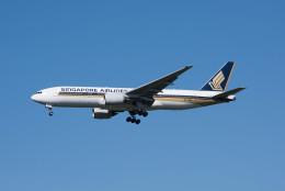 ポン太さんが、成田国際空港で撮影したシンガポール航空 777-212/ERの航空フォト(写真)