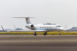 mameshibaさんが、羽田空港で撮影したCentury Ocean ltd. G-V-SP Gulfstream G550の航空フォト(写真)