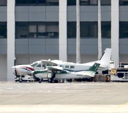 ザキヤマさんが、熊本空港で撮影した共立航空撮影 T206H Turbo Stationairの航空フォト(写真)