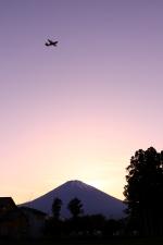 恵二さんが、滝ケ原駐屯地で撮影した不明の航空フォト(写真)