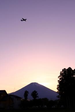 恵二さんが、滝ケ原駐屯地で撮影した不明の航空フォト(飛行機 写真・画像)