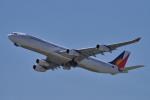 yabyanさんが、関西国際空港で撮影したフィリピン航空 A340-313Xの航空フォト(飛行機 写真・画像)