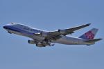 yabyanさんが、関西国際空港で撮影したチャイナエアライン 747-409F/SCDの航空フォト(飛行機 写真・画像)