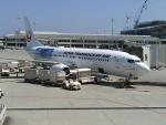 kenmariさんが、那覇空港で撮影した日本トランスオーシャン航空 737-8Q3の航空フォト(飛行機 写真・画像)