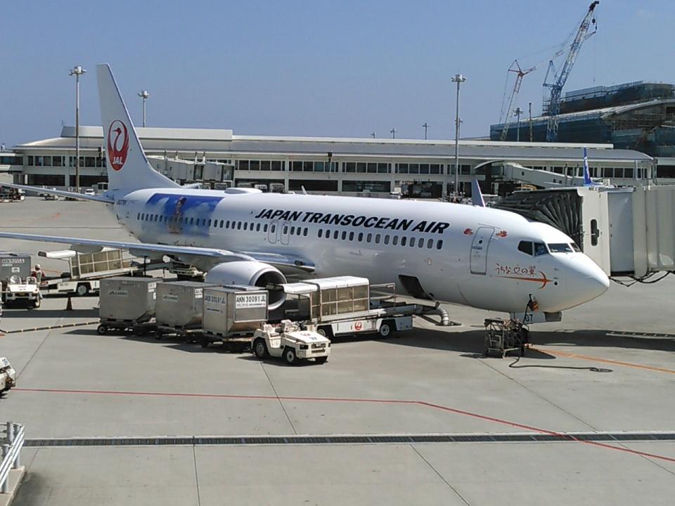 kenmariさんの日本トランスオーシャン航空 Boeing 737-800 (JA07RK) 航空フォト