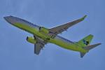 yabyanさんが、関西国際空港で撮影したジンエアー 737-8SHの航空フォト(飛行機 写真・画像)