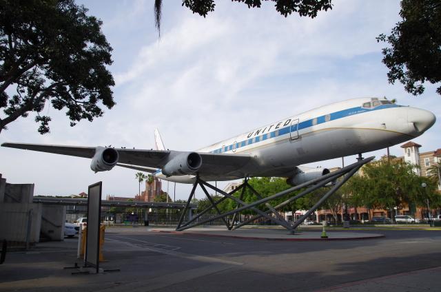 tasho0525さんが、ロサンゼルス国際空港で撮影したユナイテッド航空 DC-8-52の航空フォト(飛行機 写真・画像)