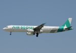 じーく。さんが、米子空港で撮影したエアソウル A321-231の航空フォト(飛行機 写真・画像)