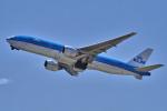 yabyanさんが、関西国際空港で撮影したKLMオランダ航空 777-206/ERの航空フォト(飛行機 写真・画像)