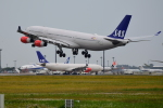 matatabiさんが、成田国際空港で撮影したスカンジナビア航空 A340-313Xの航空フォト(写真)