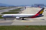 yabyanさんが、関西国際空港で撮影したアシアナ航空 767-38Eの航空フォト(写真)