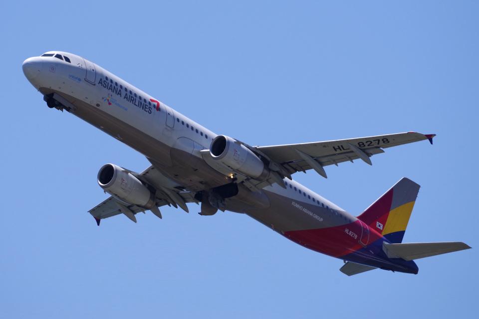 yabyanさんのアシアナ航空 Airbus A321 (HL8278) 航空フォト