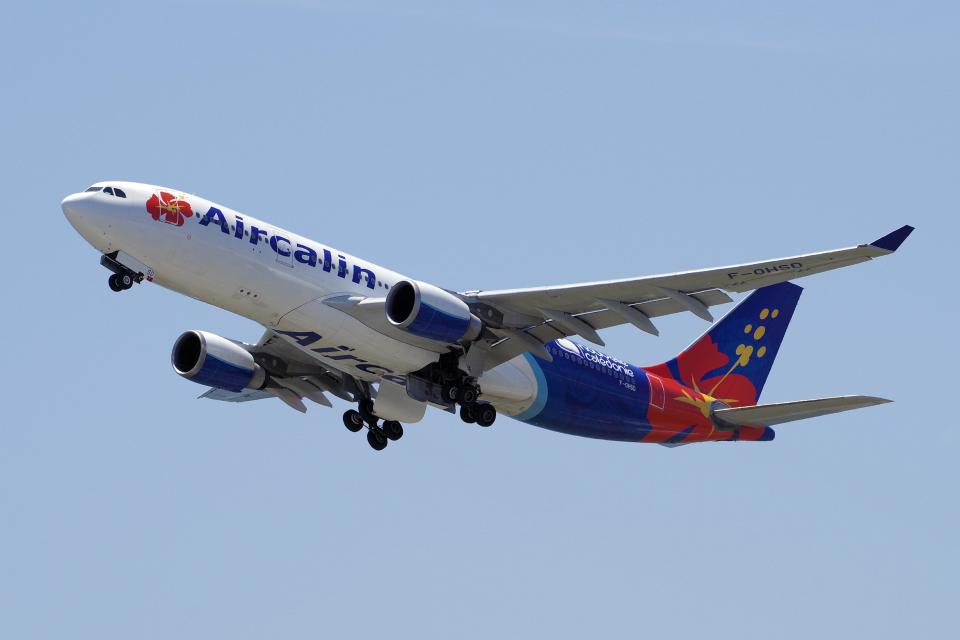 yabyanさんのエアカラン Airbus A330-200 (F-OHSD) 航空フォト