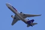 yabyanさんが、関西国際空港で撮影したフェデックス・エクスプレス MD-11Fの航空フォト(写真)