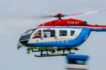 NCT310さんが、東京ヘリポートで撮影した川崎市消防航空隊 BK117C-2の航空フォト(写真)